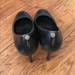Tory Burch Classic Black Heels